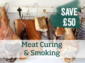 Meat curing & smoking course >