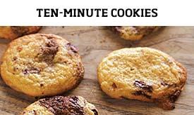 Ten-minute cookies >