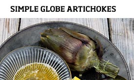 Simple globe artichoke >