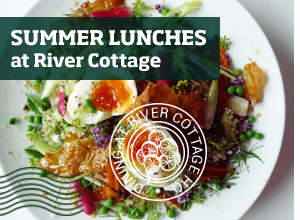 Book now at the River Cottage Cookery School >