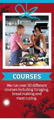 Cookery courses at River Cottage HQ >