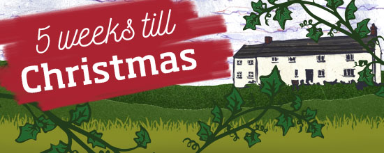 Five weeks till Christmas >