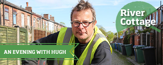 Hugh at River Cottage HQ >