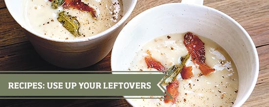 Use up your leftovers >