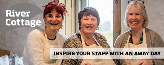 Inspire your staff at River Cottage HQ >