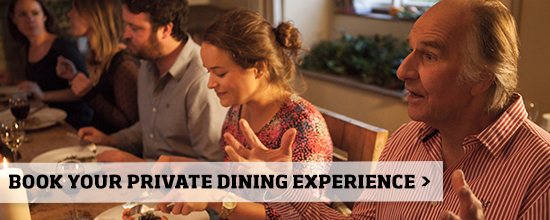 Private dining at River Cottage >