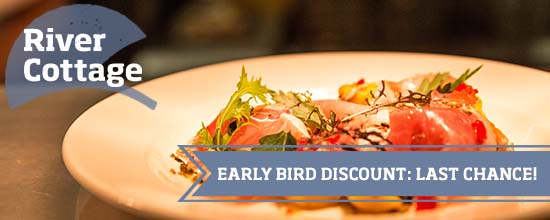 Early bird prices on selected events >