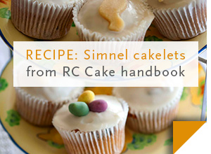 RECIPE: Easter cakelets >