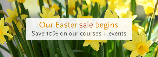 Our Easter sale starts today >