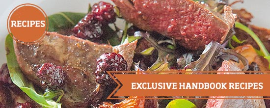 Exclusive recipes from our new book >