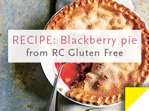 RECIPE: Blackberry + apple pie >