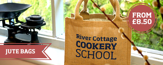 River Cottage jute bags >