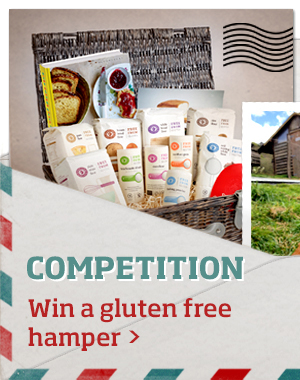 Competition: win gluten free goodies >