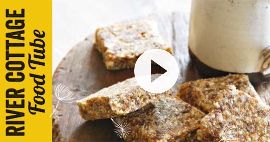 River Cottage Light & Easy - Hugh's morning tea slice