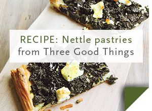 RECIPE: Nettle pastries >