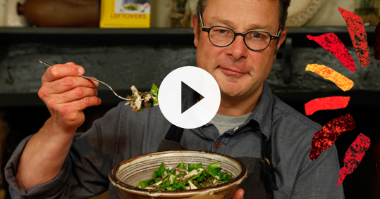 Love Your Leftovers - Mackerel with Puy lentils