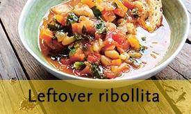 Leftover ribollita >