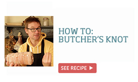 How to: butcher's knot >