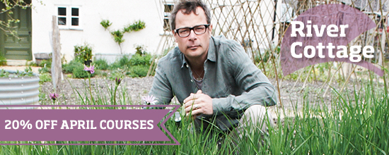 20% off April courses >