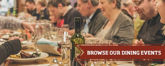 Browse our dining events >