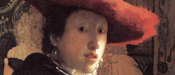 Jan Vermeer, Girl with The Red Hat