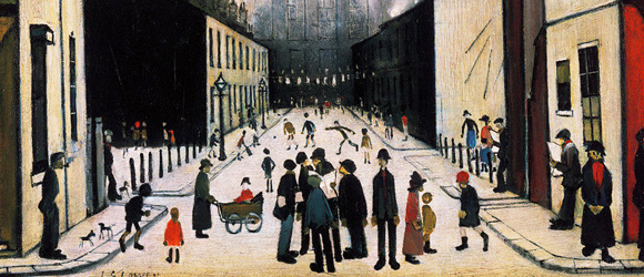 Lowry | W&N Behind the Painting