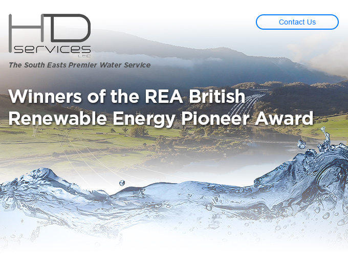 HD Services - Winners of the REA British Renewable Energy Pioneer Award