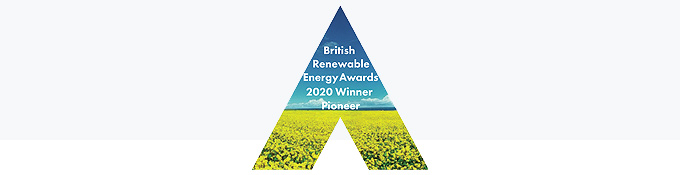 British Renewable Energy Awards 2020 Winner Pioneer