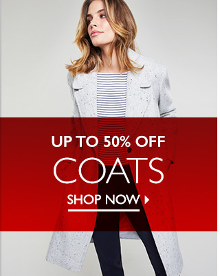 Mid Season Sale up to 50% off Coats