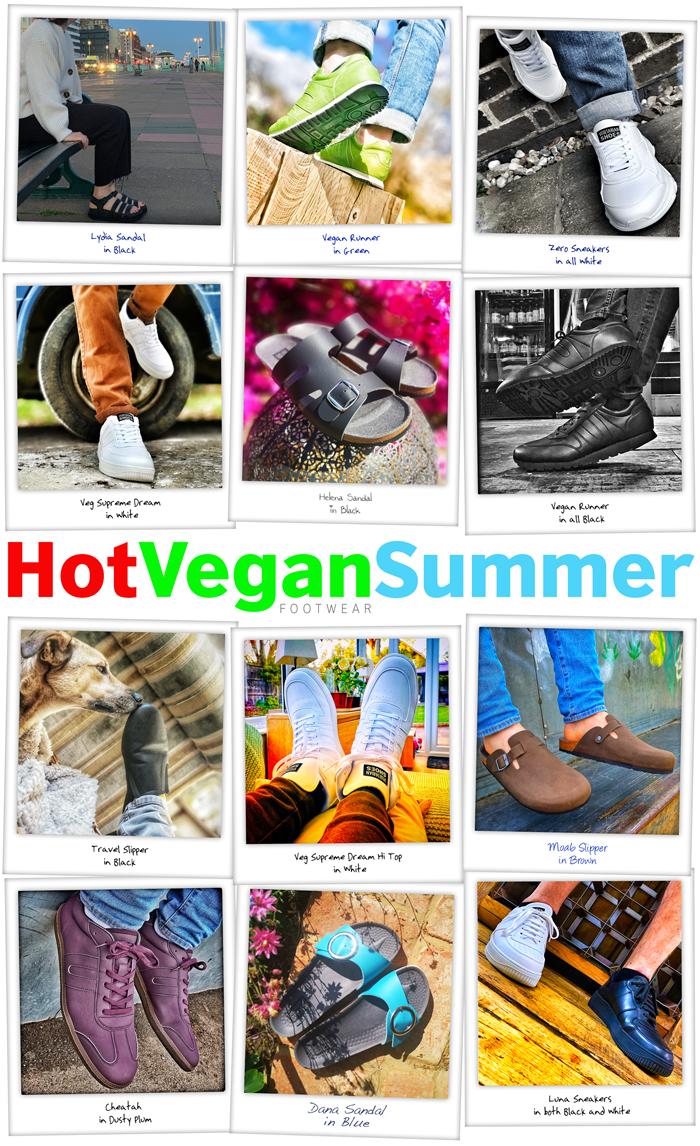 Hot Vegan Summer Footwear