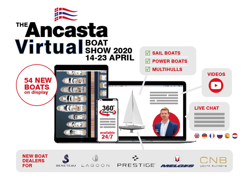 The Ancasta Virtual Boat Show 2020