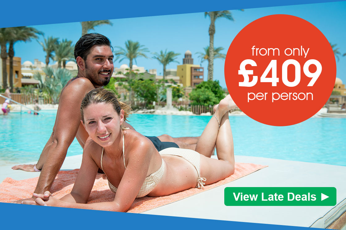 Great late deals from £409 per person