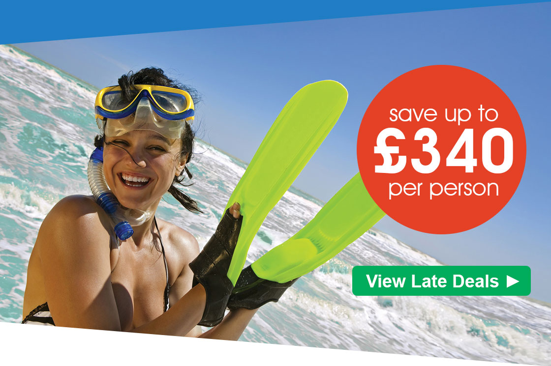 Red Hot Deals from £498 pp - save up to £340 pp!